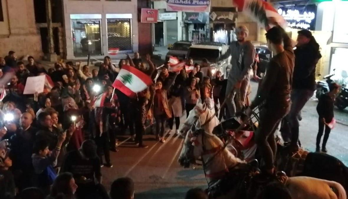 الخيول العربية تتقدّم المسيرة في بعلبك... وفاء وصبر (فيديو)