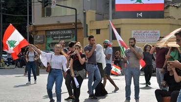 رابطة اللبنانية تؤكد انتسابها للحراك ودعمها الشعب اللبناني لانتزاع  مطالبه