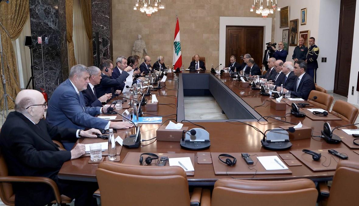 """عون استقبل كوبيش... """"لتكليف رئيس حكومة بصورة عاجلة والبدء بالاستشارات"""""""
