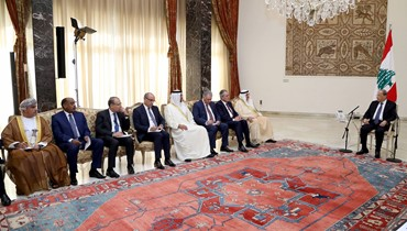 """السفراء العرب و""""مجموعة الدعم"""" اطَّلعوا على موقف عون  \r\nكوبيتش: للإسراع في حكومة ثقة والأولوية للاستقرار النقدي"""