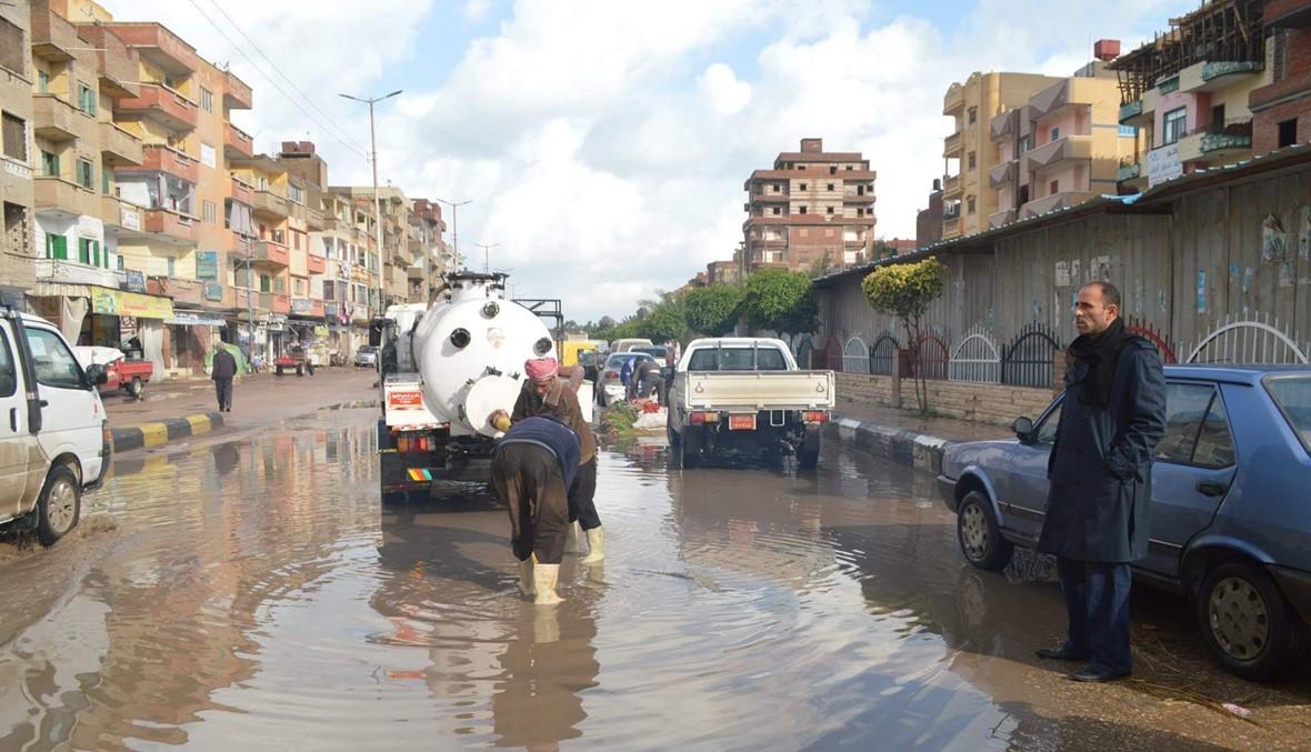 بعد الخسائر الأخيرة... طوارئ مصرية لمواجهة موجة جديدة من الطقس السيئ