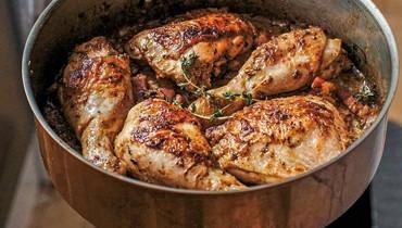 سرّ تحضير الدجاج مع صلصة الخردل والثوم والليمون