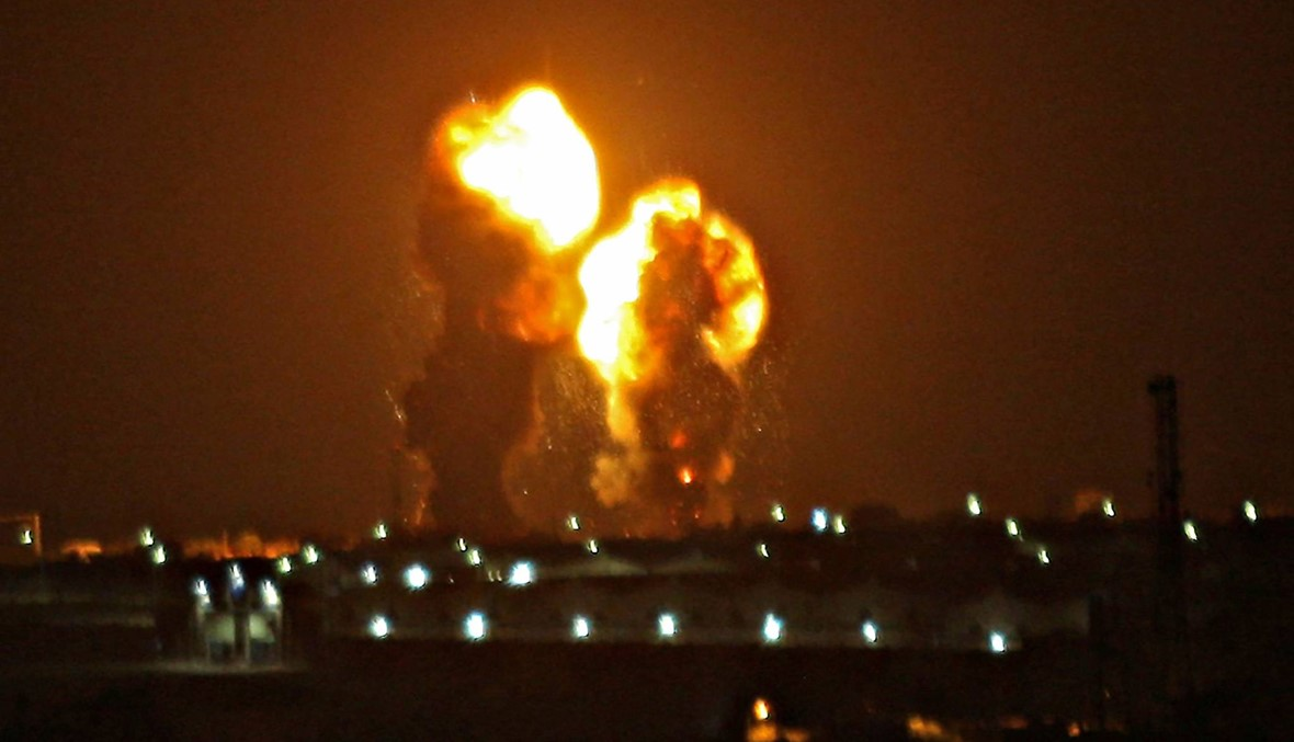 إسرائيل تشن غارات على غزة بعد إطلاق صواريخ من القطاع