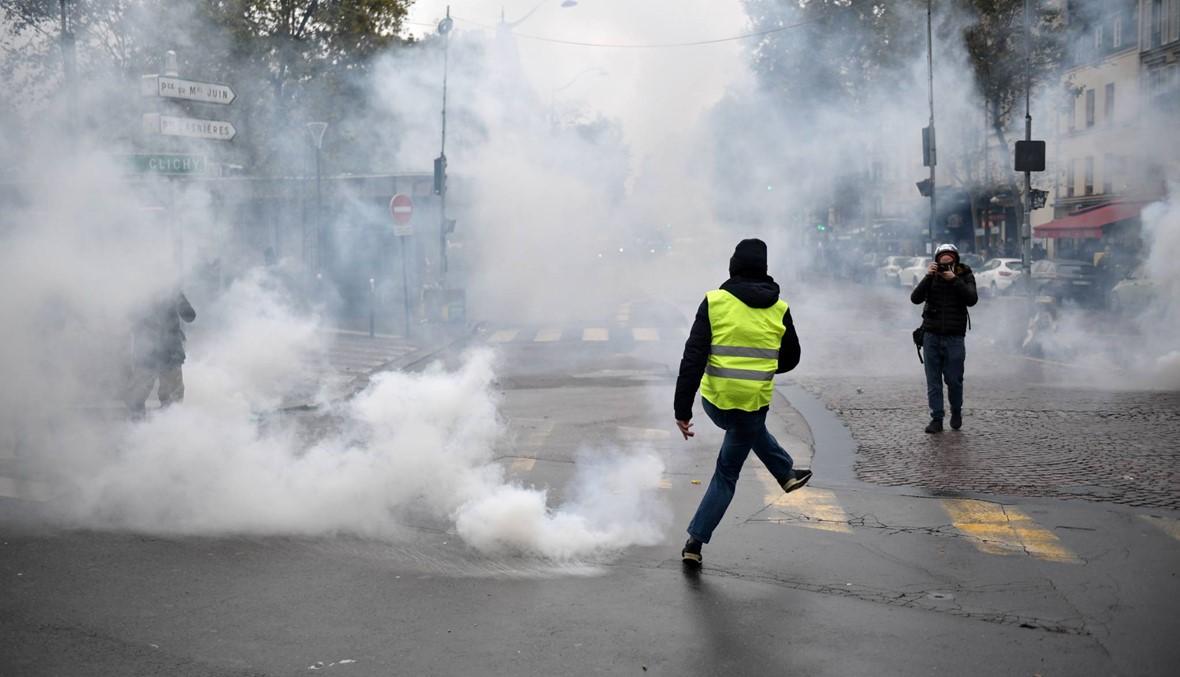 """عام على الحراك غير المسبوق... """"السترات الصفر"""" في فرنسا يسعى إلى استعادة زخمه"""