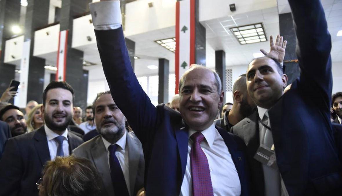 لحظة إعلان فوز ملحم خلف... انتصار آخر للثورة (صور وفيديو)