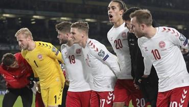 سويسرا والدانمارك إلى نهائيات كأس أوروبا