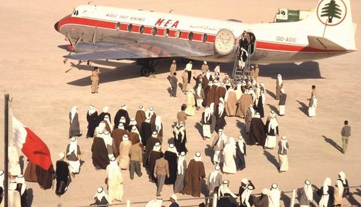 مطار دبي بين الماضي والحاضر!