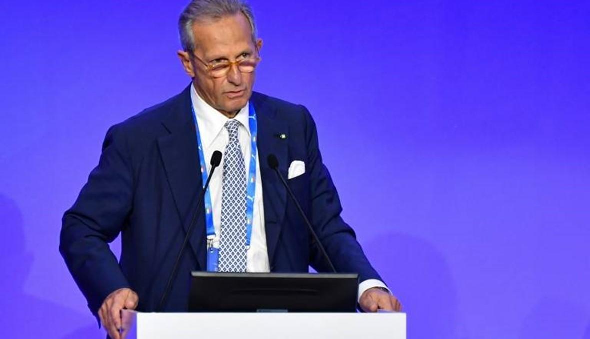 رئيس رابطة الدوري الإيطالي يعلن استقالته