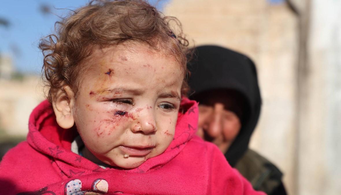 """الموت يلاحق نازحين سوريّين إلى مخيّمهم: """"هذا ليس بصاروخ، إنّه مصيبة كبيرة"""""""