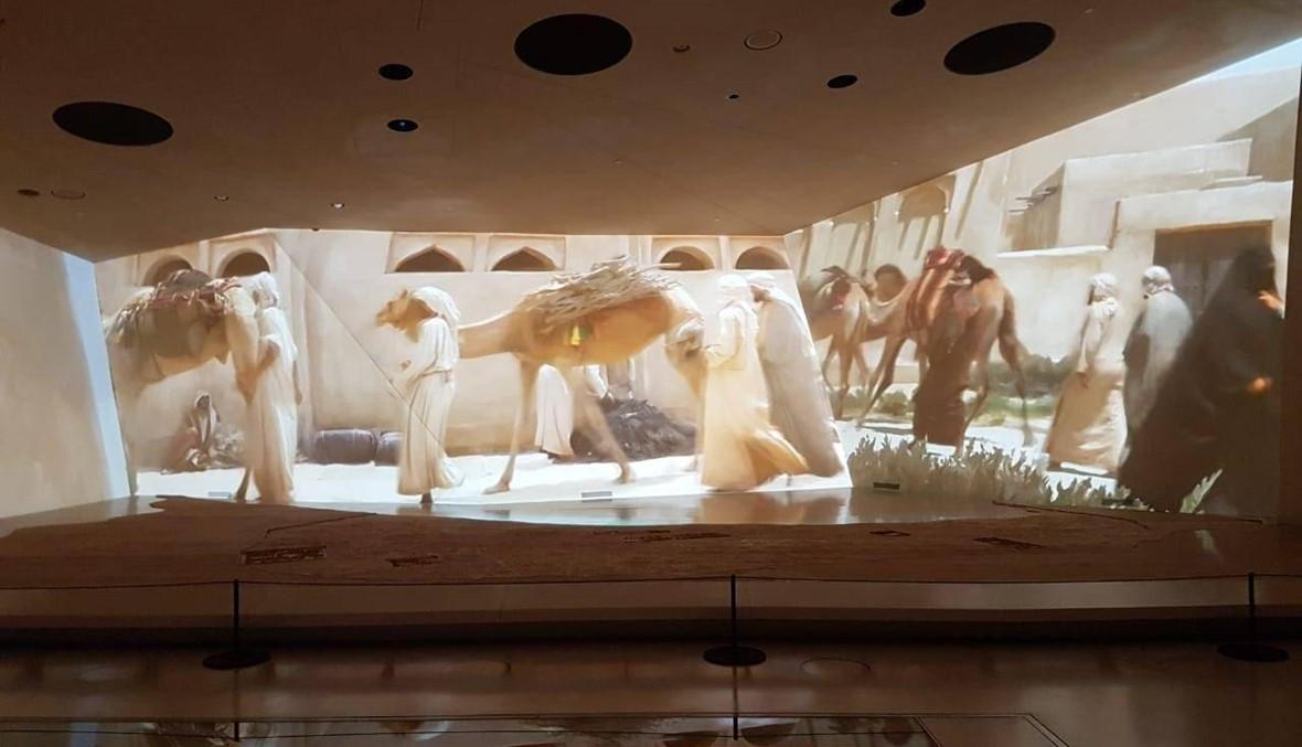 """في المتحف الوطني في قطر: تاريخ """"وردة الصحراء"""" بالصوت والصورة والمعروضات"""