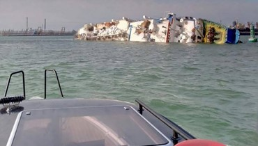 انقلاب سفينة شحن قبالة رومانيا... وإنقاذ 14600 رأس غنم