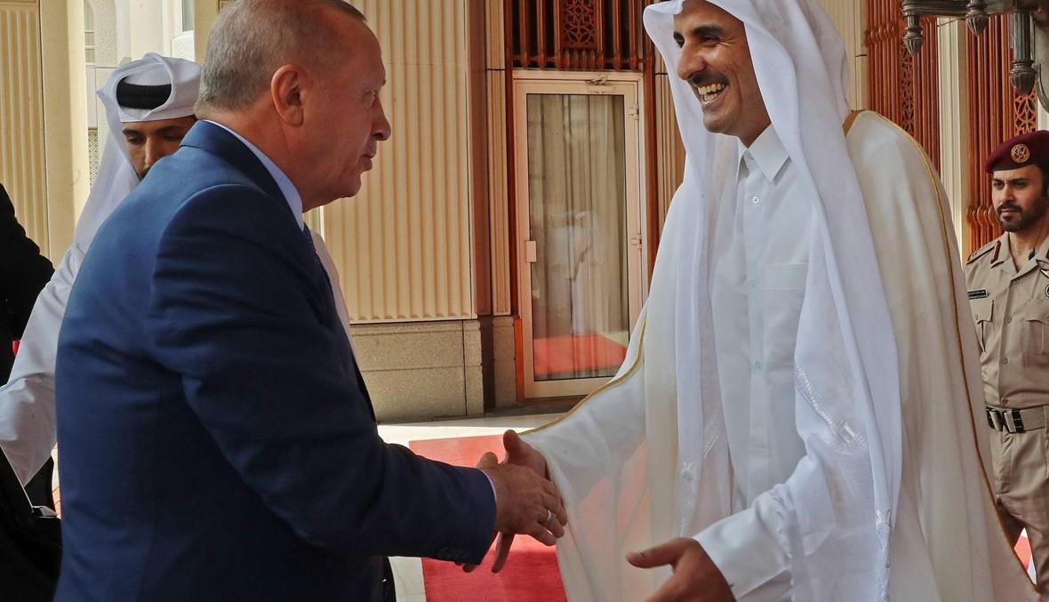 """إردوغان في قطر: دعوة تركيّة إلى """"إنهاء الأزمة الخليجيّة بأسرع وقت"""""""