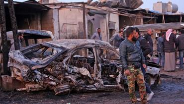 تفجير سيارة في غرب رأس العين: مقتل 17 شخصاً