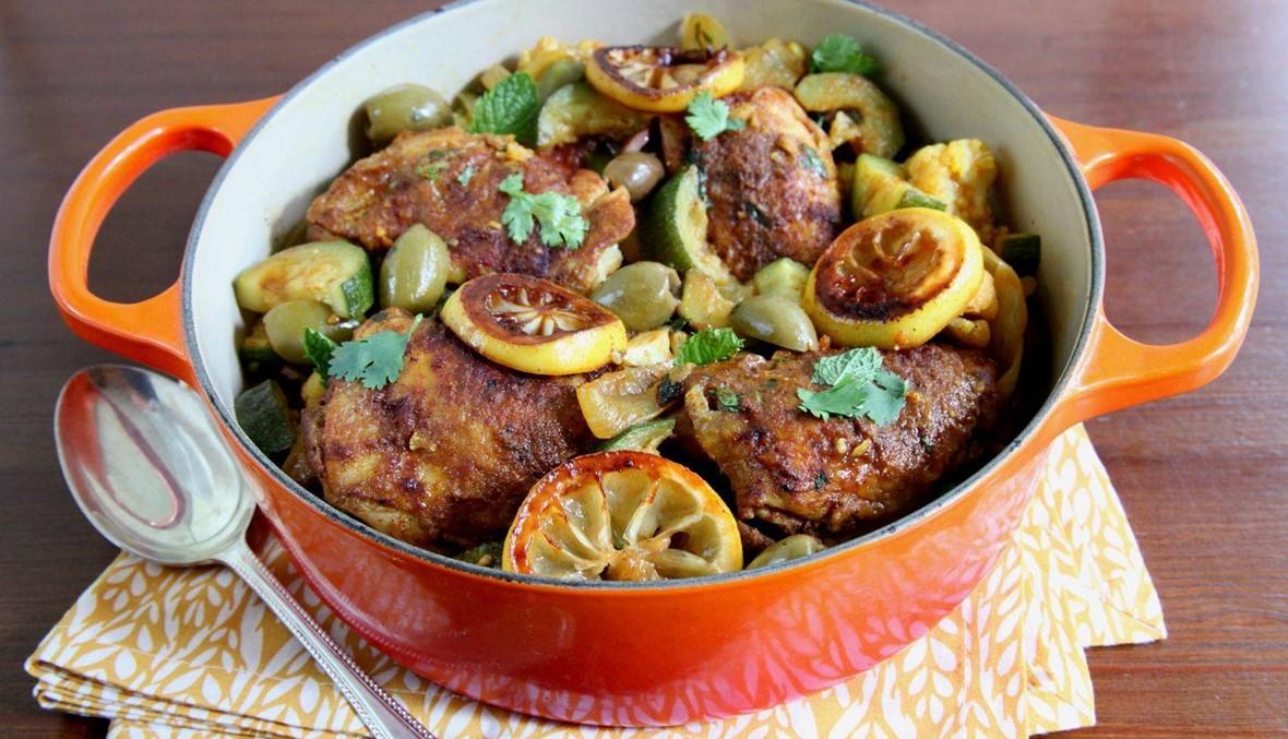 سرّ طاجن القرنبيط بالدجاج: الأشهى على الإطلاق!