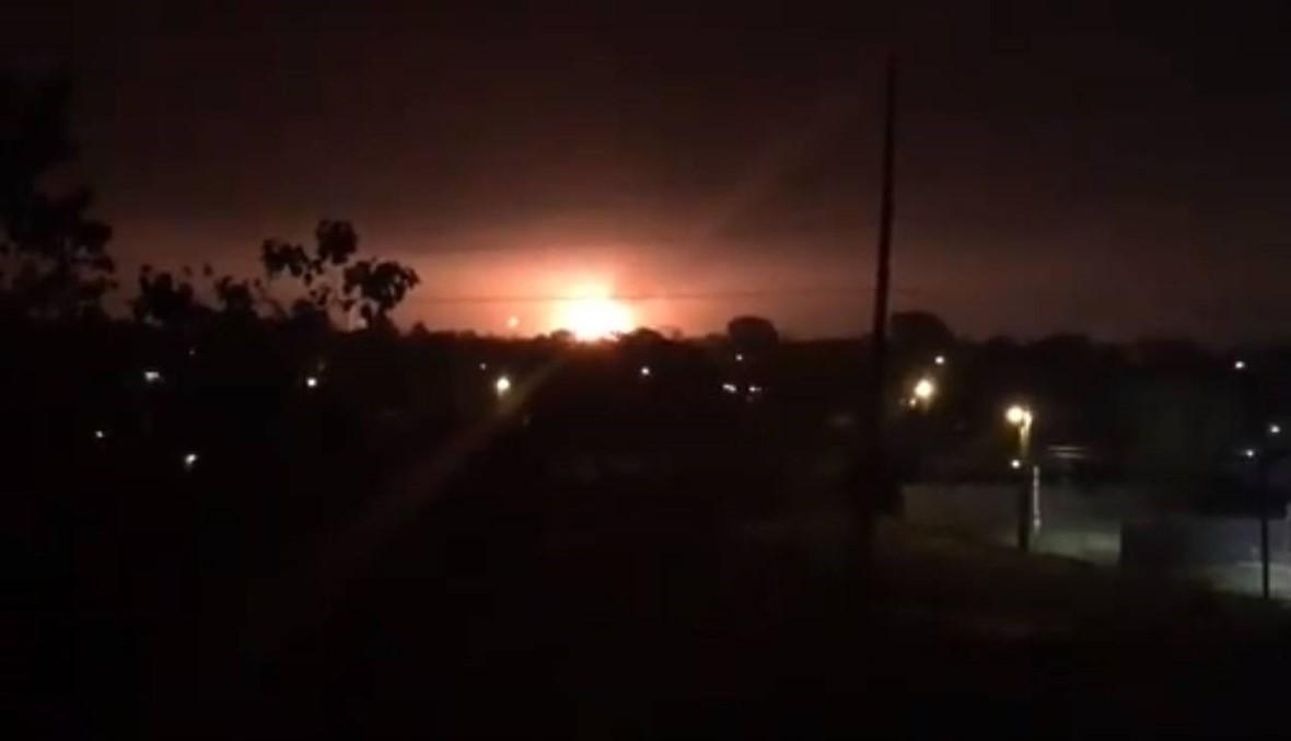 انفجار في مصنع كيميائي في ولاية تكساس