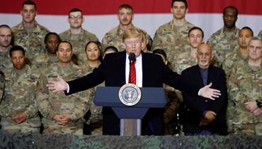 ترامب في زيارة مفاجئة لأفغانستان