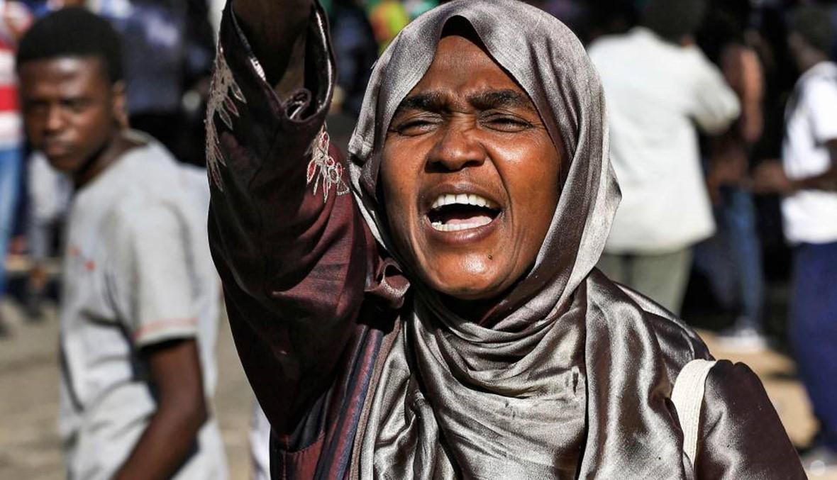 """مسيرة تطالب بـ""""العدالة للشهداء"""" في الخرطوم: """"نخاف ألا يُحاكَم المجرمون"""""""