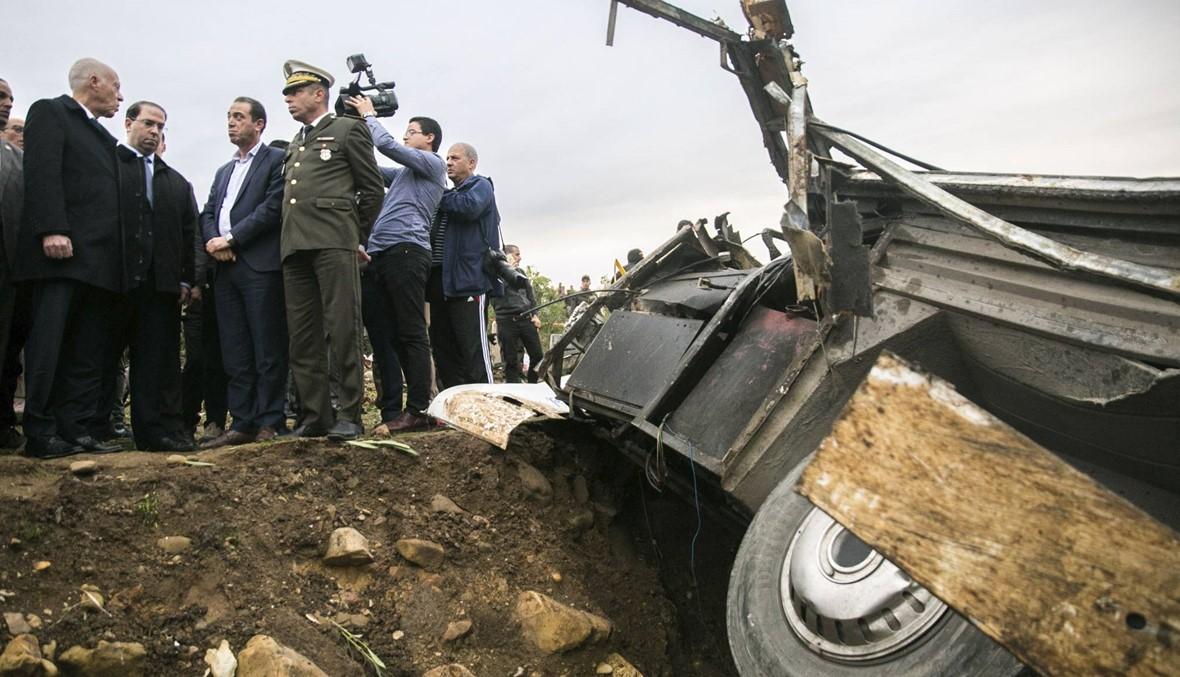 """""""شوراع الموت"""" في تونس... ارتفاع حصيلة قتلى حادثة الحافلة إلى 26"""