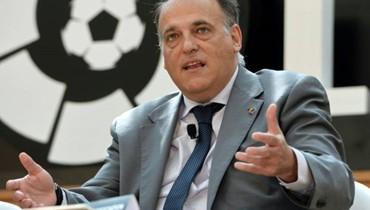 تيباس يستقيل من رئاسة رابطة الدوري الإسباني.. للترشح مجدداً