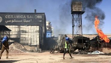 """""""صوت الانفجار كان عالياً""""... 16 قتيلاً إثر حريق في مصنع بالخرطوم"""