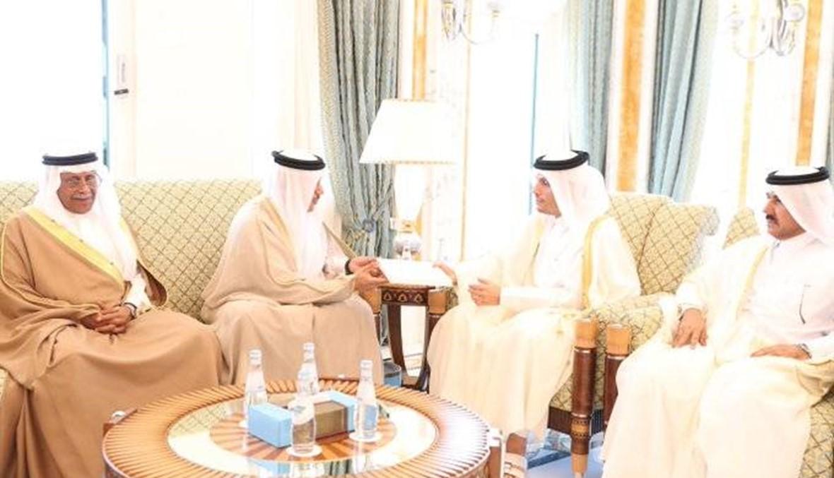 رسالة قطرية إلى السعودية ودعوة