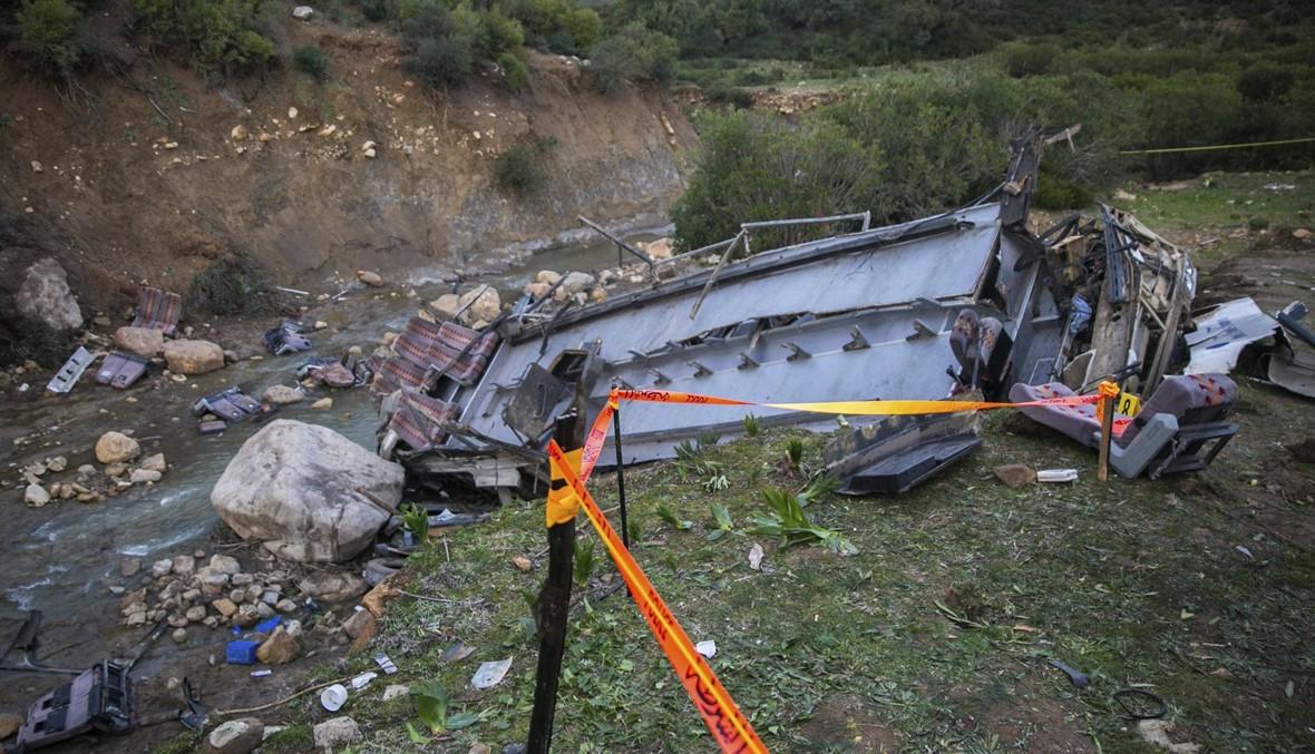 الحصيلة ترتفع: ضحايا حادث الحافلة في تونس وصلوا إلى 27 قتيلاً