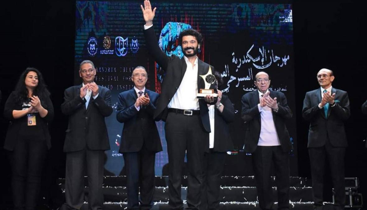 افتتاح الدورة الأولى لمهرجان الإسكندرية المسرحي العربي (صور)
