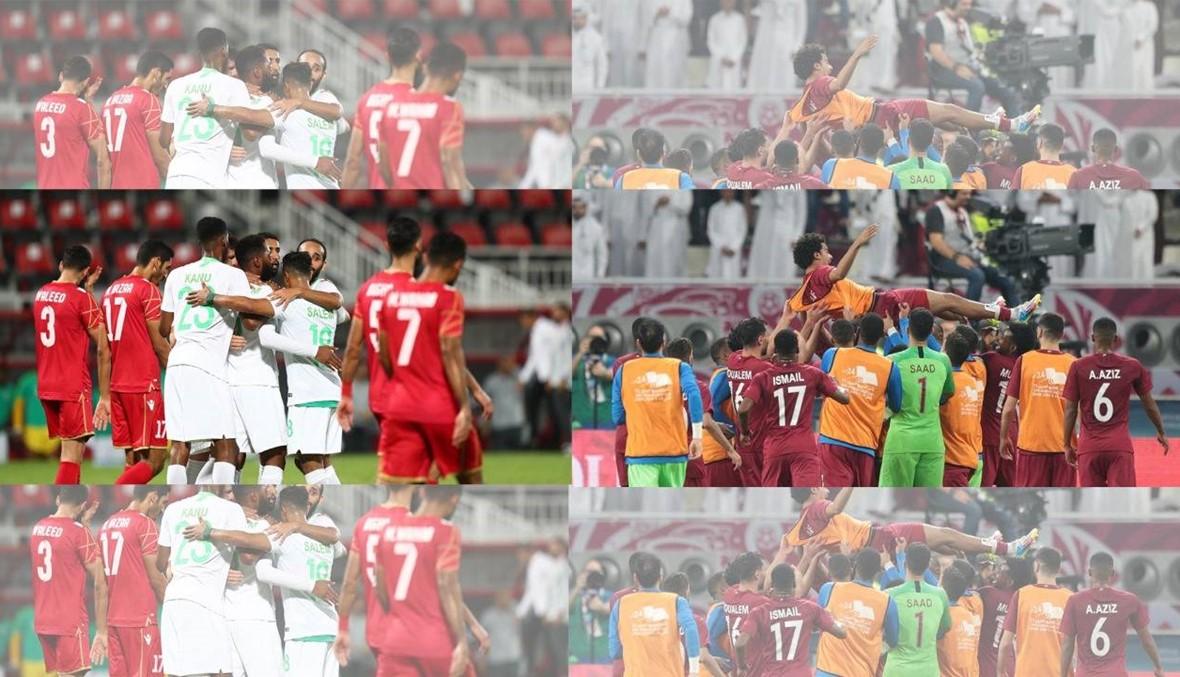 الأنظار نحو موقعة قطر والسعودية في كأس الخليج