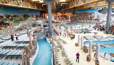 بحجم خمسة ملاعب كرة قدم... افتتاح حديقة مائيّة أسطوريّة في ألمانيا (صور)