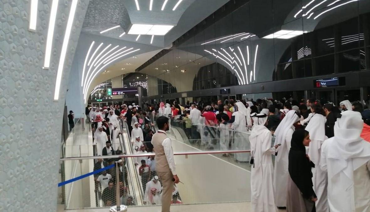 بالفيديو: في مترو الدوحة... الانتقال بين الملاعب أسرع