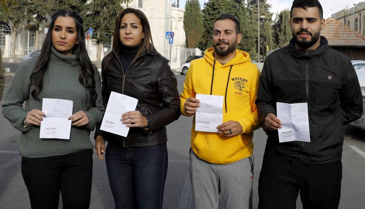 """إسرائيل تعتقل 4 صحافيّين فلسطينيّين من """"تلفزيون فلسطين"""" لفترة قصيرة"""