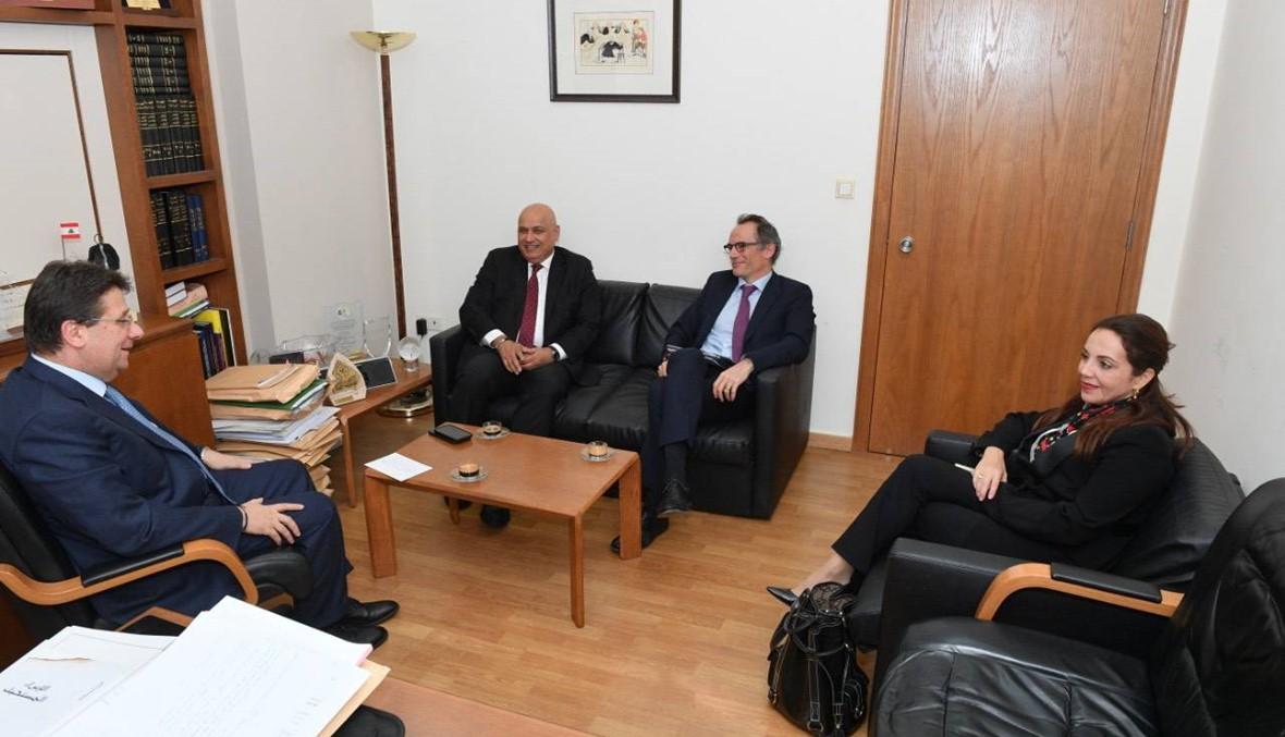 كنعان التقى وفد البنك الدوليّ: إقرار موازنة 2020 معدَّلة إشارة حياة إيجابية