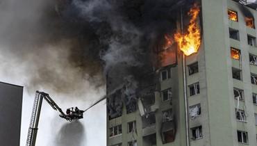 انفجار غاز هزّ مبنى من 12 طابقاً... 7 قتلى اثر حريق في سلوفاكيا