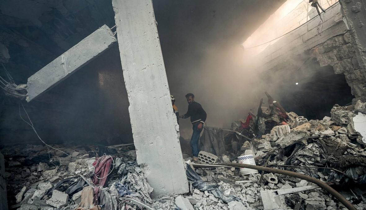 """سوريا: غارات استهدفت """"مواقع للقوّات الإيرانيّة"""" في دير الزور... سقوط 5 مقاتلين أجانب"""