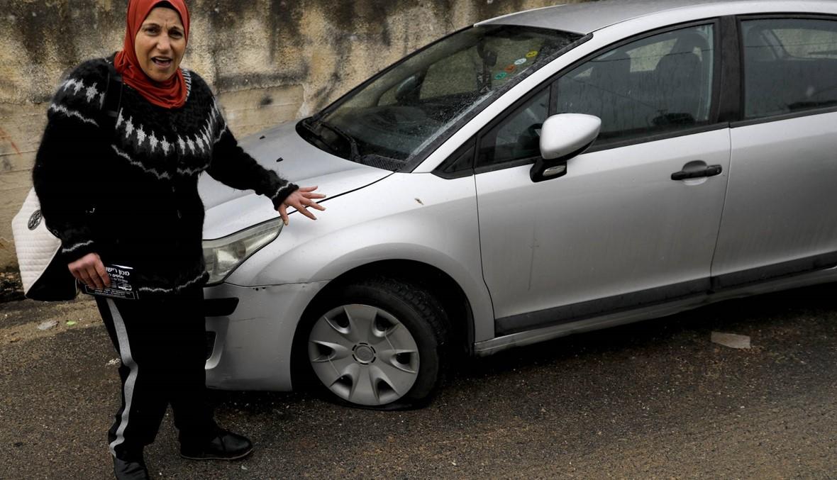 160 سيّارة تعرّضت للتخريب في حي فلسطيني بالقدس