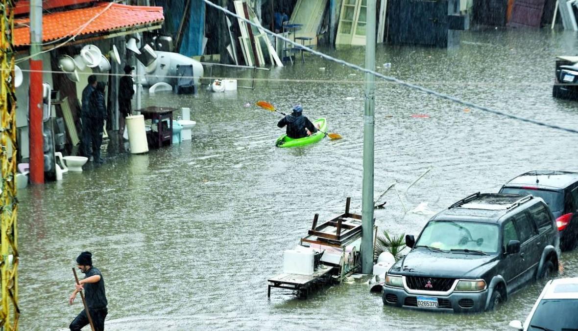 صباح الثلثاء: السيول تغرق لبنان ويوم حزين لطرابلس... الحكومة آتية حتماً