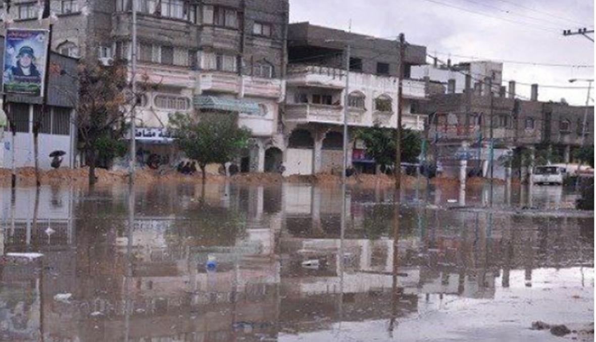 التوقعات الجوية تقلق سكان غزة