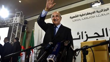 """أوّل تصريح للرئيس الجزائري المنتخب: تبون دعا الحراك الشعبي إلى """"حوار جاد"""""""