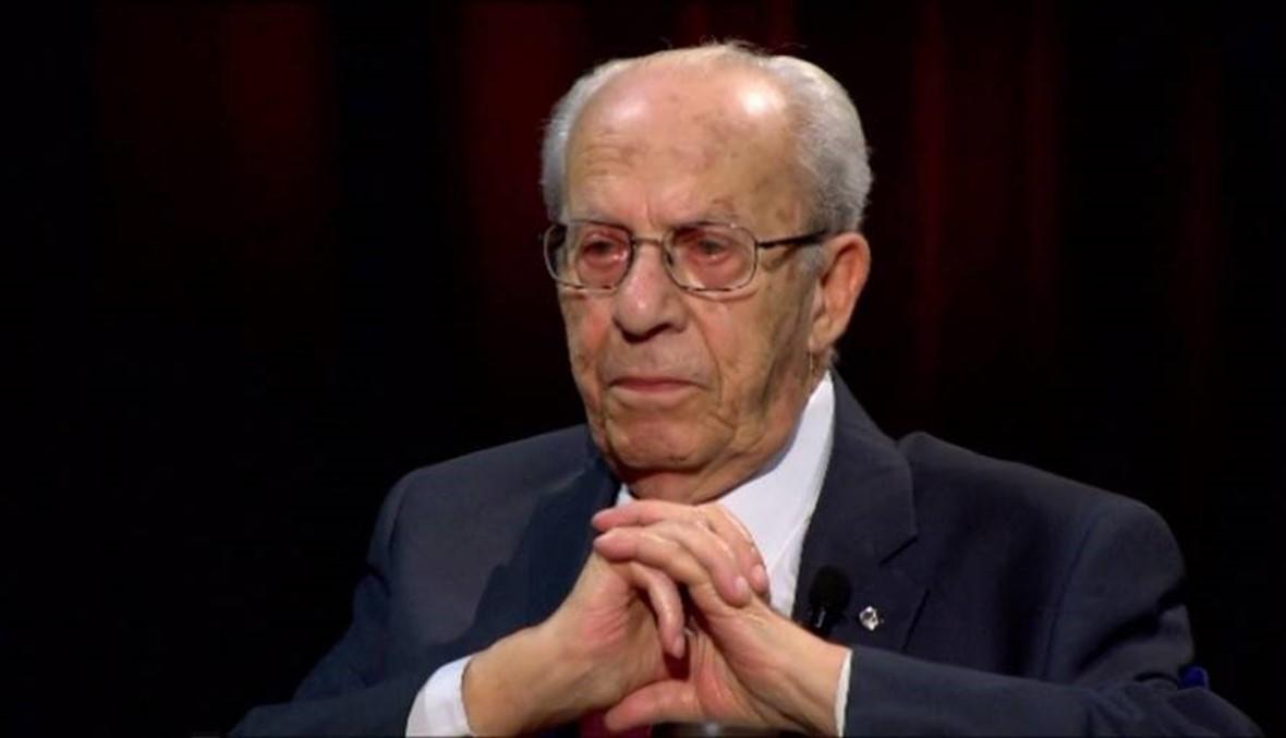 وفاة النائب الأول لرئيس حزب الكتائب جوزيف أبو خليل عن عمر ناهز الـ94 عاماً