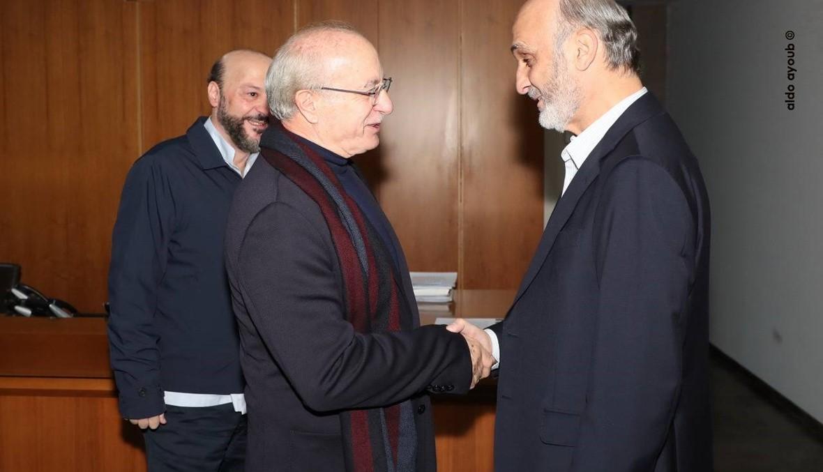 جعجع بعد لقائه غطاس خوري في معراب: لن نشارك في الحكومة بكافّة الأحوال