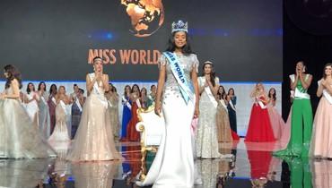 فوز ملكة جمال جامايكا بلقب ملكة جمال العالم