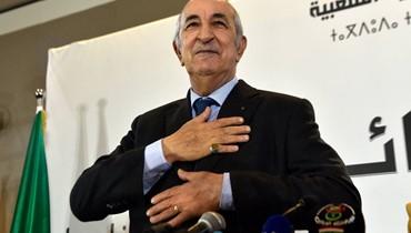 الجيش الجزائري يهنّئ تبون بالرئاسة