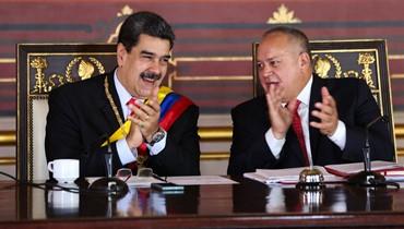 """مادورو يتّهم ديبلوماسيًّا أميركيًّا بـ""""التآمر"""" لشنّ هجمات على الجيش الفنزويلي"""
