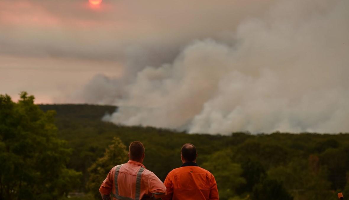 بالصور- حرائق مدمّرة في أوستراليا: إعلان حالة الطوارئ في نيو ساوث ويلز