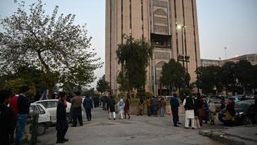 زلزال بقوة 6,1 درجات يضرب أفغانستان وباكستان