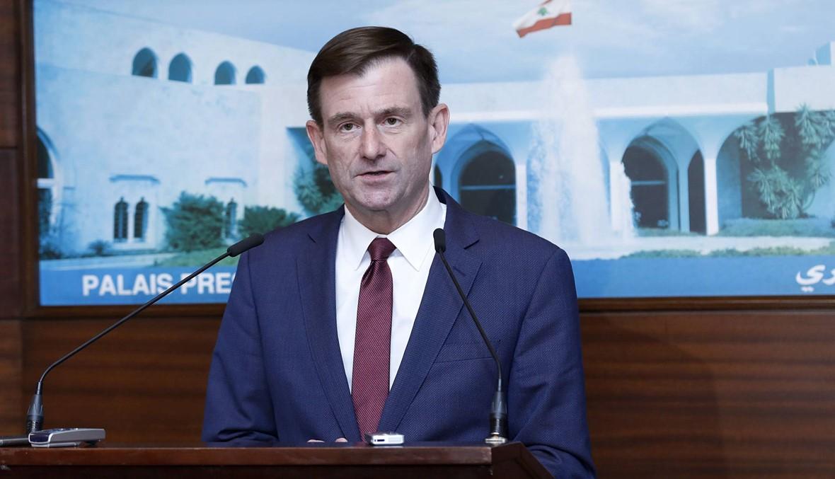 الخارجية الأميركية: هيل ناشد الزعماء اللبنانيين دعم حكومة قادرة على تطبيق اصلاحات