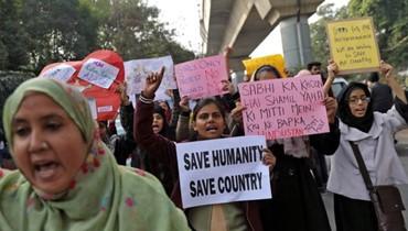 الهند: استمرار الاحتجاجات على قانون الجنسية وتزايد القتلى