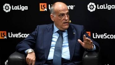 تيباس رئيساً لرابطة الدوري الإسباني لولاية ثالثة