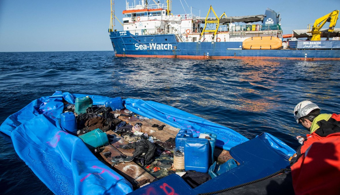 """كانوا """"مذعورين""""... وصول 162 مهاجراً تم إنقاذهم قبالة ليبيا إلى إيطاليا"""
