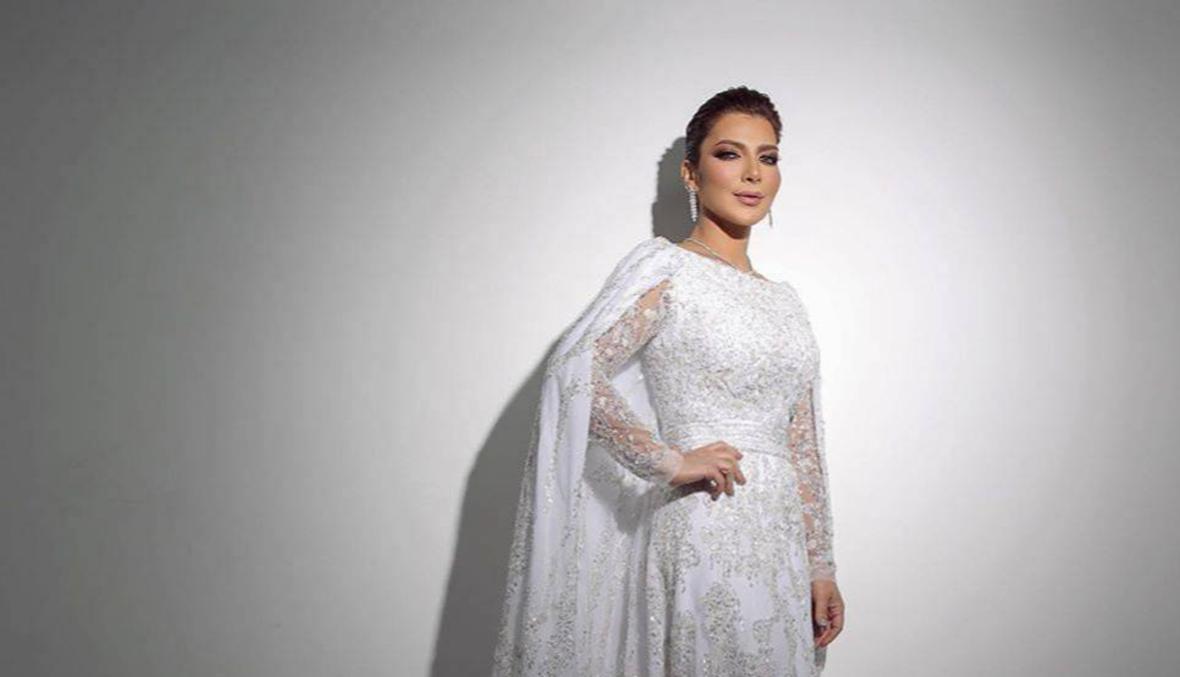 الفنانة أصالة بفستان زفاف... ما السبب؟